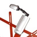 Lampe-clip Triple LED pliante