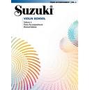Suzuki accompagnement piano pour cahier violon 4