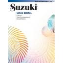 Suzuki accompagnement piano pour cahier violon 5