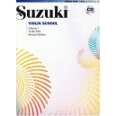 Pack Cahier + CD Suzuki violon n°1