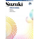 Pack Cahier + CD Suzuki violon n°2