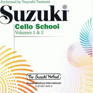 CD Suzuki violoncelle vol 1&2