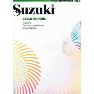Suzuki accompagnement piano pour cahier cello 2