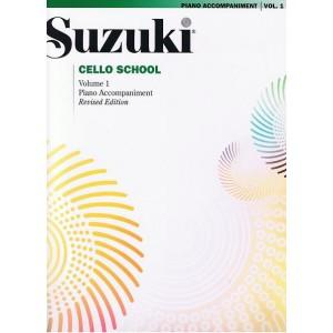 Suzuki accompagnement piano pour cahier cello 1