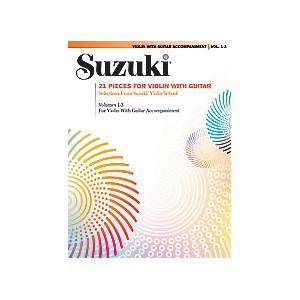 Suzuki 21 pièces pour violon et guitare