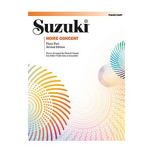 Suzuki Home Concert Piano Part revised edition