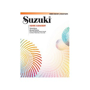 Suzuki Home Concert Violon revised edition