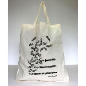 sac tissu motif Clarinette ou Saxophone
