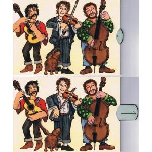 carte postale animée