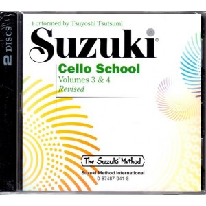 CD Suzuki violoncelle vol 3&4
