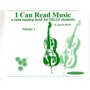 I can read music vol 1violoncelle