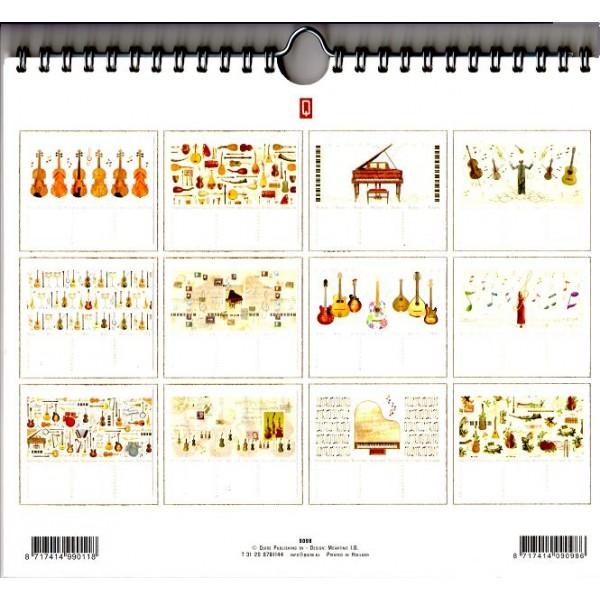 calendrier d 39 anniversaire perp tuel la boutique du violon. Black Bedroom Furniture Sets. Home Design Ideas