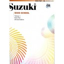 Suzuki ontrebasse vol 1 avec CD