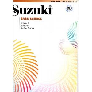 Suzuki contrebasse vol 2 avec CD